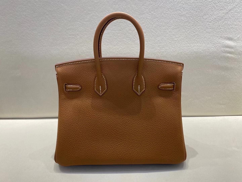 Hermès(爱马仕)Birkin 铂金包 法国togo ck37 金棕色 顶级纯手工 现货 金扣 25cm