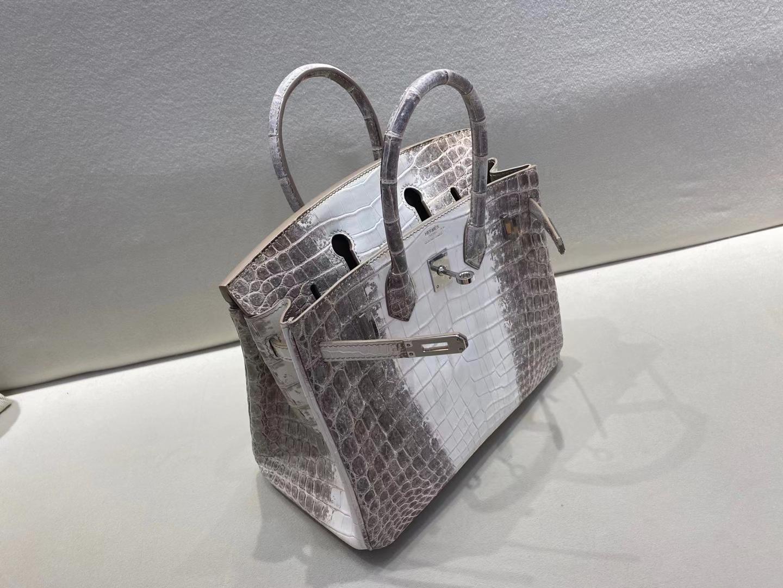 Hermès(爱马仕)birkin 25cm 银扣 喜马拉雅 巅峰之作 顶级纯手工 定制