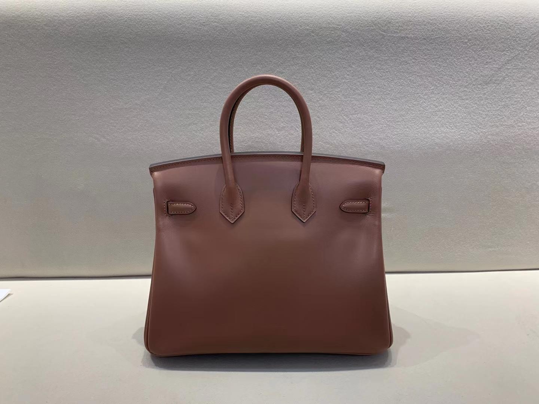 Hermès(爱马仕)Birkin 铂金包 jonathan皮 D0 高档马鞍色 顶级纯手工 25cm 金扣