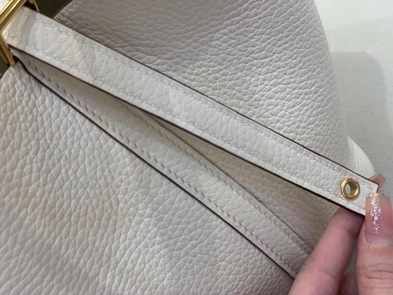 Hermès(爱马仕)Picotin 菜篮包 Tc 奶白拼小鸡黄 18cm 顶级品质