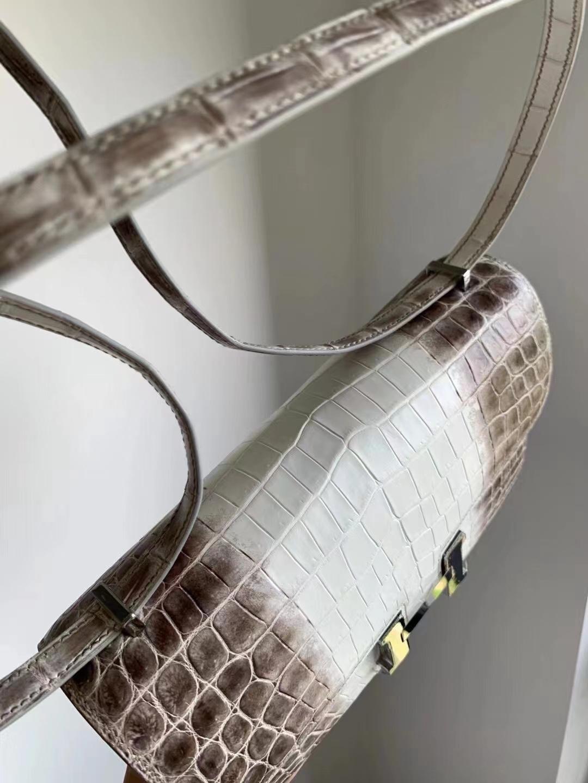 Hermès(爱马仕)Constance 空姐包 Elan 喜马拉雅 银扣 26cm